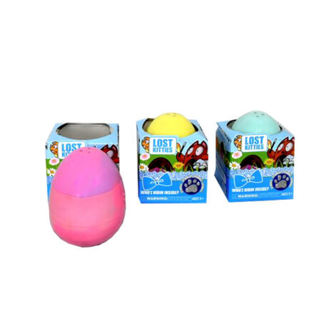 Потерянный котенок в яйце